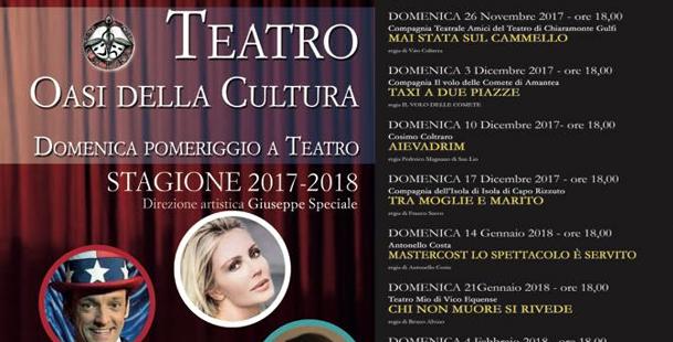Tipi @Teatro Oasi della Cultura