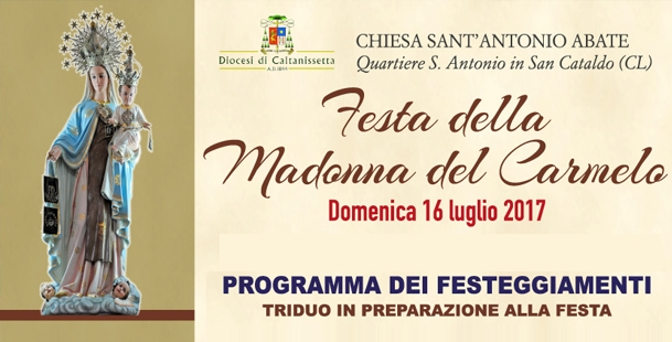 Festa Madonna del Carmelo 2017