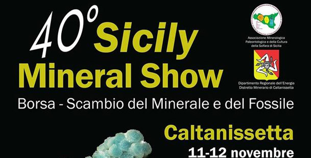 40° Sicily Mineral Show