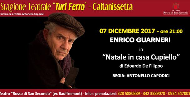 Natale in casa Cupiello @Teatro Rosso di San Secondo