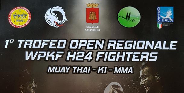 1° Torneo Open  WPKF H24Fighter
