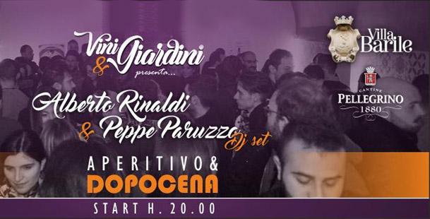 Vini & Giardini presenta Alberto Rinaldi & Peppe Paruzzo