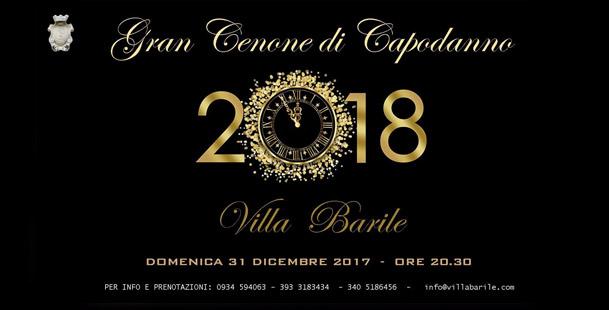 Gran Cenone di Capodanno - Villa Barile