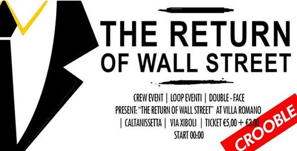 The Return of Wall Street