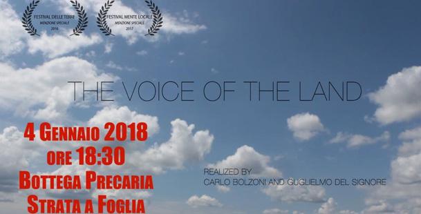 """Cortometraggio """"The Voice of The Land"""""""