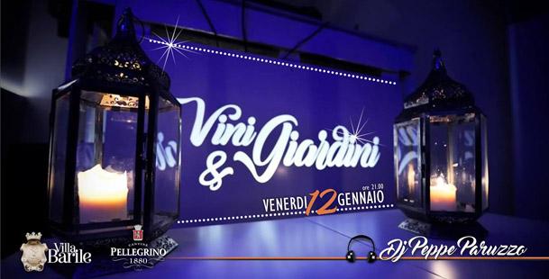 Vini & Giardini - Dj set Peppe Paruzzo