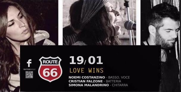 Love Wins @Route 66