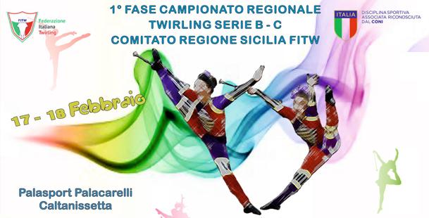 Twirling serie B-C Sicilia