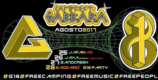 Camp-Fest Gabbara #G18