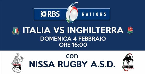 6 Nazioni  con Nissa Rugby A.S.D.