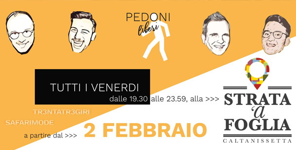 Venerdì sera alla Strata 'a Foglia - Tr3ntatr3giri e Safarimode!