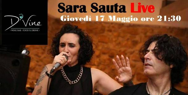 Sara  Sauta Live al D'Vine
