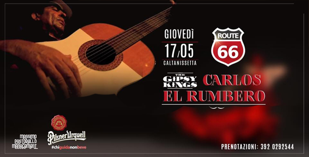 Carlos El Rumbero dei Gipsy King @Route66