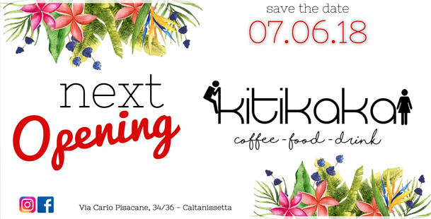 Next. Opening. Kitikaka Coffee, food and drinks