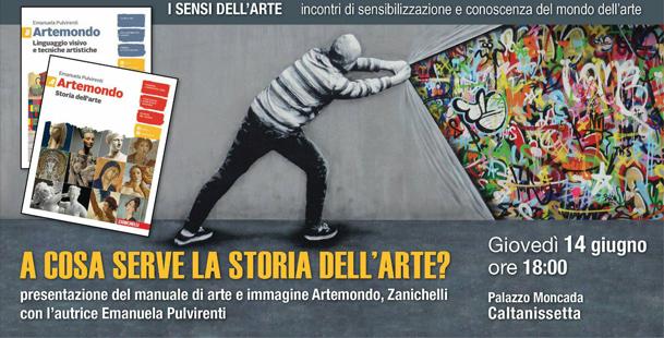 Presentazione del manuale di arte e immagine Artemondo