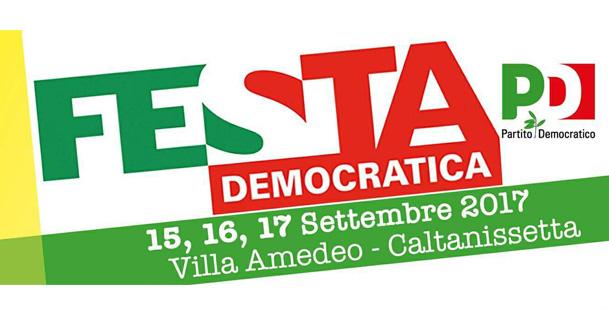 Festa Democratica Caltanissetta