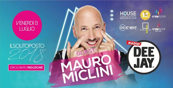 Guest: MAURO MICLINI - Il Solito Posto