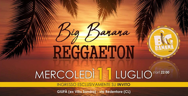 Big Banana Reggaeton Version - Villa Sandra