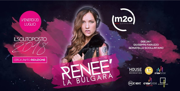 Guest: RENÈE LA BULGARA - Il Solito Posto