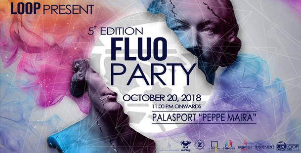 FLUO PARTY 5.0 • Palasport Peppe Maira