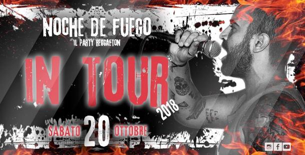NOCHE De FUEGO ~ Il Party Reggaeton