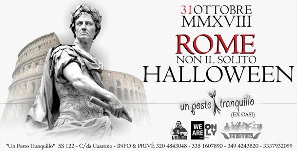 Rome. Non Il Solito Halloween