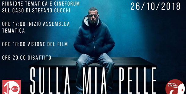 Stefano Cucchi: riunione tematica - cineforum