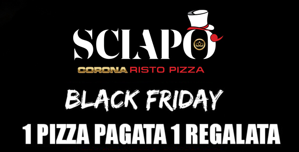 Black pizza Friday | Sciapò