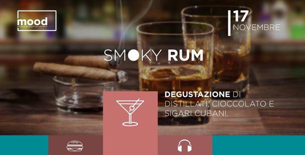 Drink_Degustazione • Smoky Rum