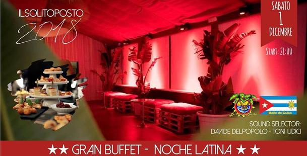 Gran Buffet y Noche Latina