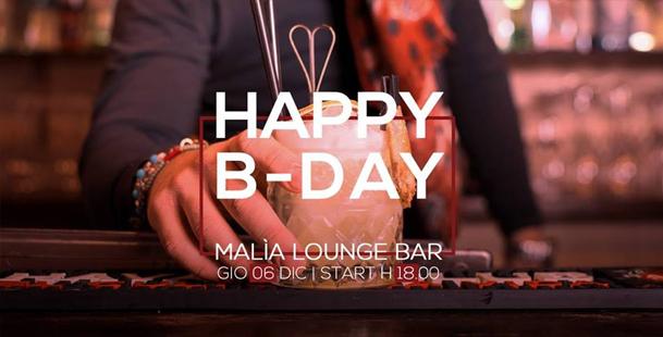 Apericena: Happy B-Day Malìa