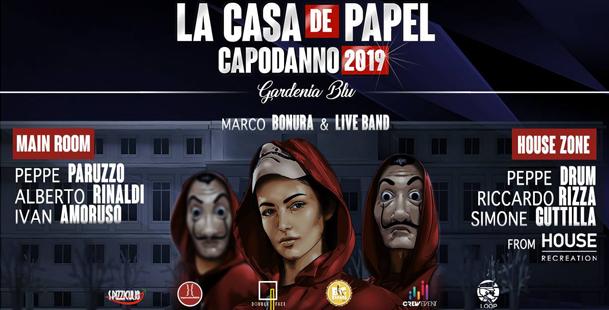 La Casa de Papel - Capodanno 2019