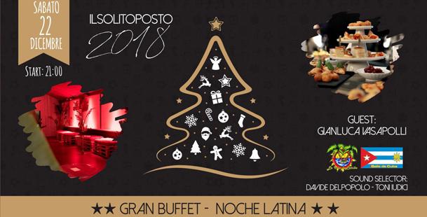 Gran Buffet Natalizio y Noche Latina