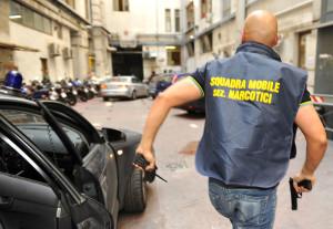 L'operazione è stata condotta dai poliziotti della Narcotici