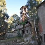 La miniera Trabonella in stato d'abbandono