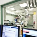 Ospedale reparto di interventistica cardiovascolare medicina sala operatoria