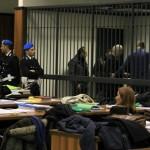 processo tribunale palazzo giustizia mafia polizia penitenziaria aula udienza