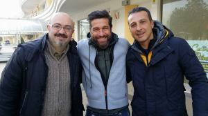 Edoardo Stoppa con Bonfanti (Wwf) e Colonna (Lida)