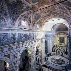 L'interno della Cattedrale di Caltanissetta