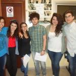 Gli studenti dell'Itas Russo