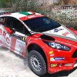 Giandomenico Basso, Lorenzo Granai (Ford Fiesta R5 LDI R5 #4, Movisport)
