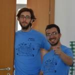 Simone Maira e Salvatore Trabonella, responsabili del grest