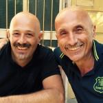 Davide Di Bartolo con Domenico Beccaria