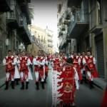 il corteo sfila in via Paolo Emiliani Giudici