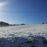 Accumuli di neve fino a 3 cm
