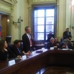 L'intervento del sindaco Ruvolo