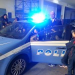 bambini questura polizia volanti scuola