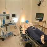 Una sala di simulazione medica
