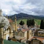 Una veduta della parte storica del Cimitero Angeli