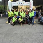 Lo staff del motoclub Sciabbarrasi
